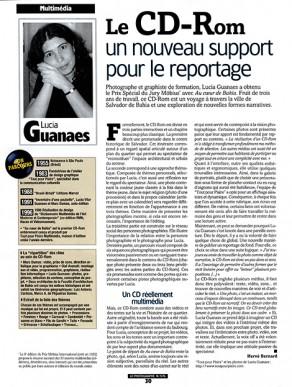 Lucia Guanaes - presse - Au coeur de Bahia - Le Photographe - 2000-07