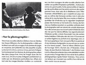 Lucia Guanaes - presse - Brasil Brésil - Photographies magazine - 1989-03