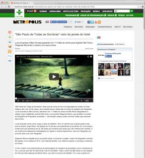 Lucia Guanaes - presse - TV Cultura São Paulo - Metropolis - 29-01-2013