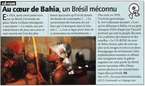 Lucia Guanaes - presse - Au coeur de Bahia - L'Évènement du Jeudi - 2000-02-17