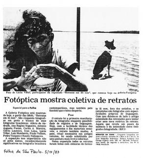Lucia Guanaes - presse - Folha de São Paulo - 1987-11-05