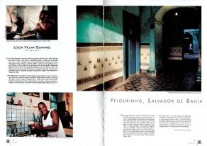 Lucia Guanaes - presse - Au coeur de Bahia - Revue noire - 1996-09