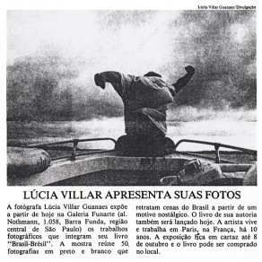 Lucia Guanaes - presse - Brasil Brésil - Folha de São Paulo - 1989-09-14