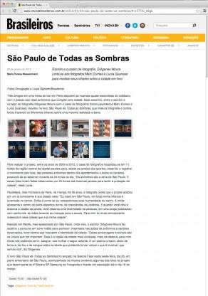 Lucia Guanaes - presse - Revista Brasileiros on line - 2013-01-25